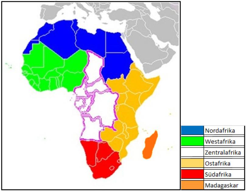 zentral afrika